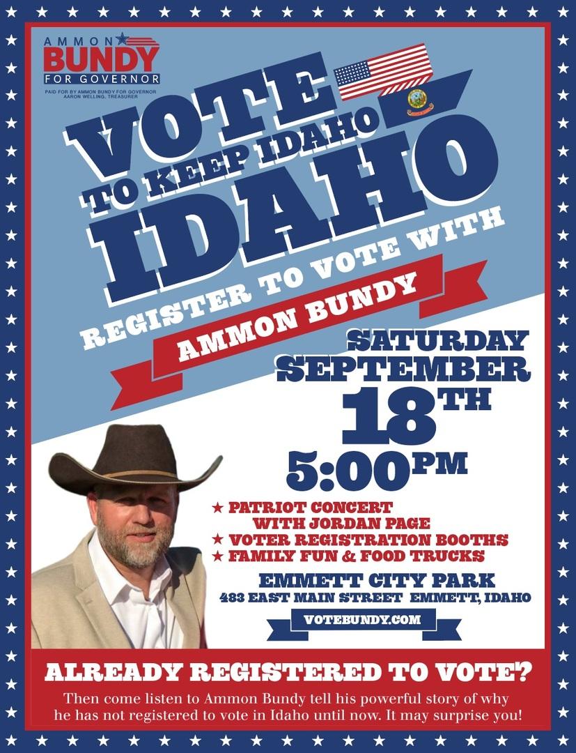 Vote to Keep Idaho IDAHO