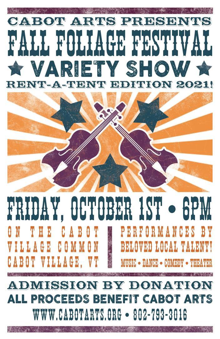 Cabot Fall Foliage Festival Variety Show