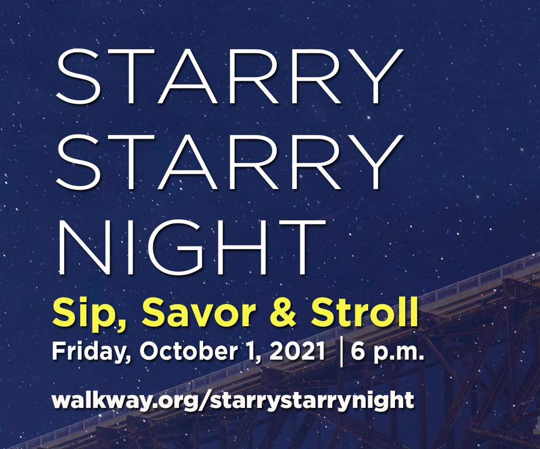 Starry Starry Night - Sip, Savor & Stroll Along the Hudson River