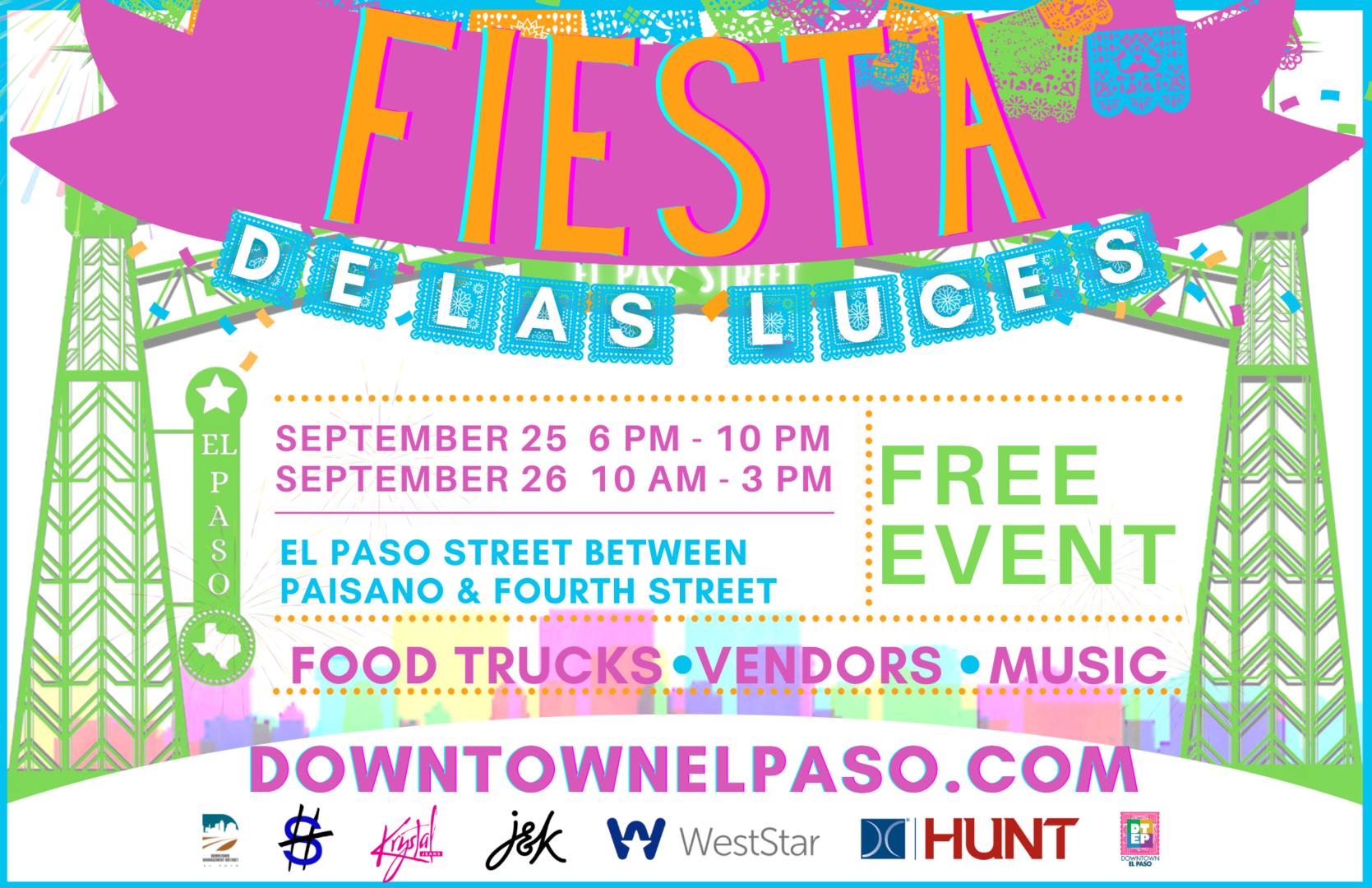 Downtown Fiesta de Las Luces - September