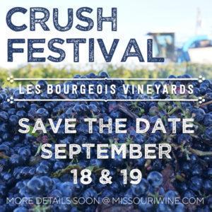 Les Bourgeois Vineyards Crush Festival