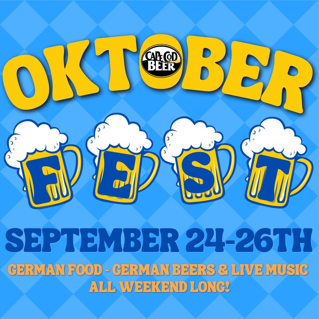 Oktoberfest Weekend at Cape Cod Beer!
