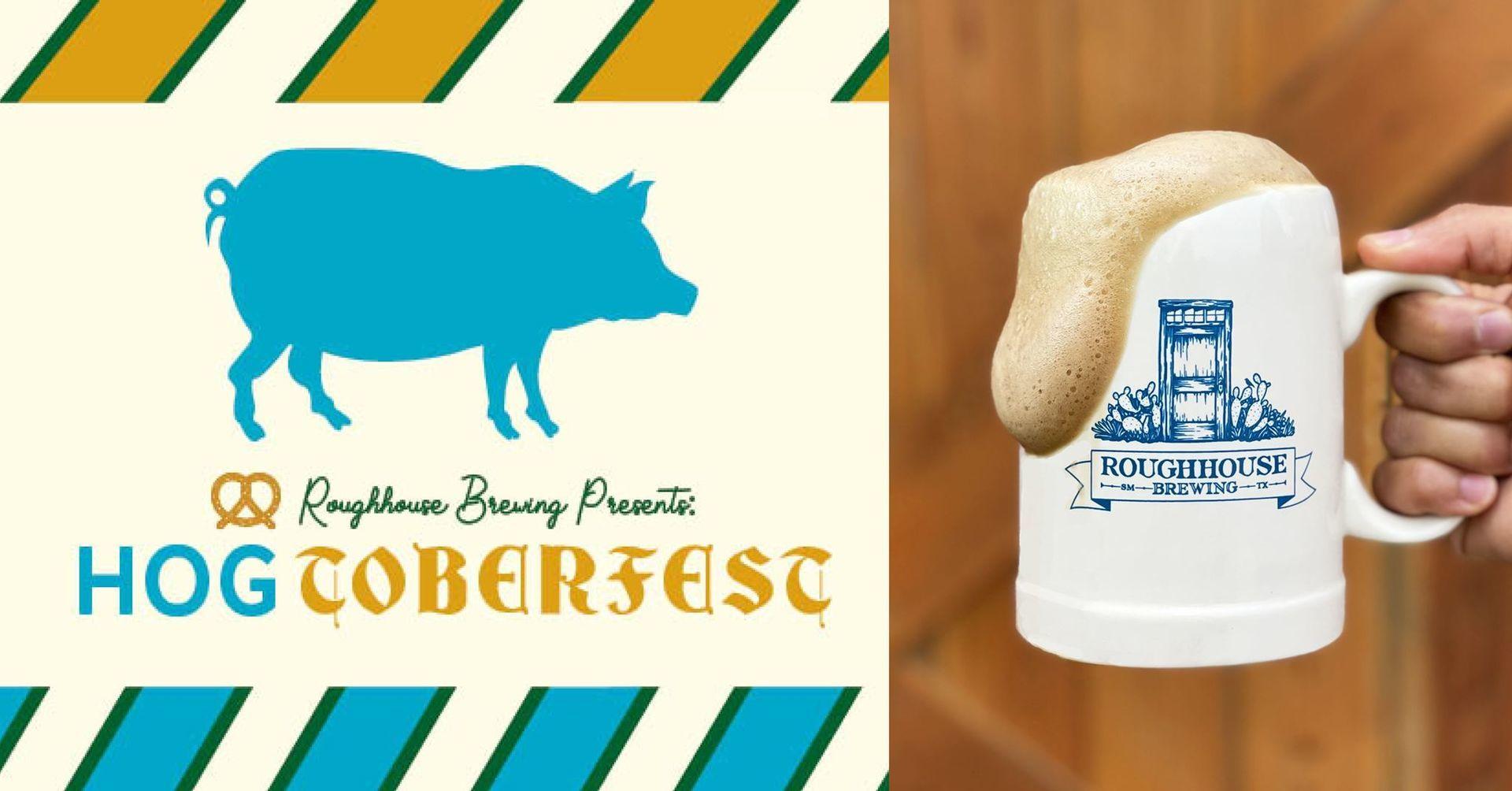 9/25 Hogtoberfest! at Roughhouse Brewing