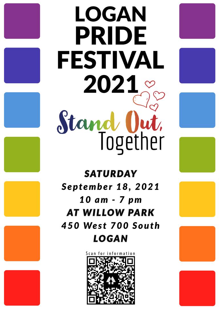 Logan Pride Festival 2021