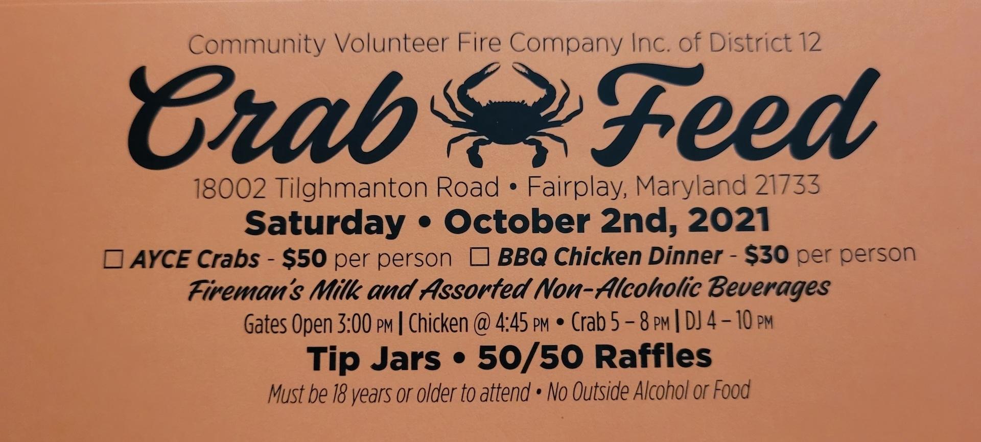 Fariplay Crab Feed!