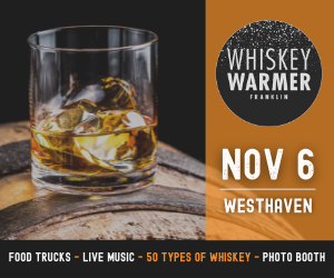 Whiskey Warmer at Westhaven