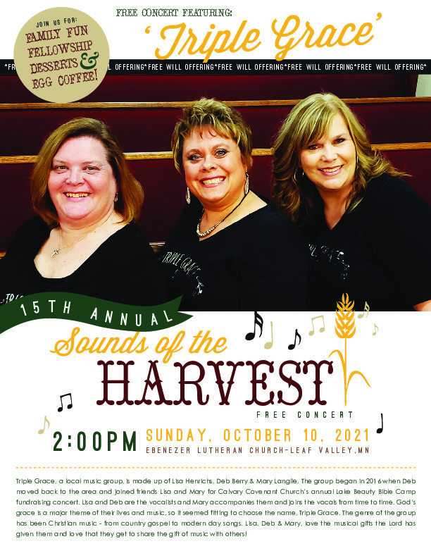Sounds of the Harvest Free Concert