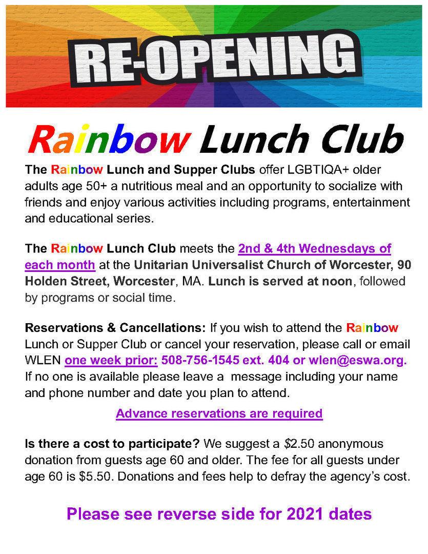 Rainbow Lunch Club - Rainbow Lunch Club