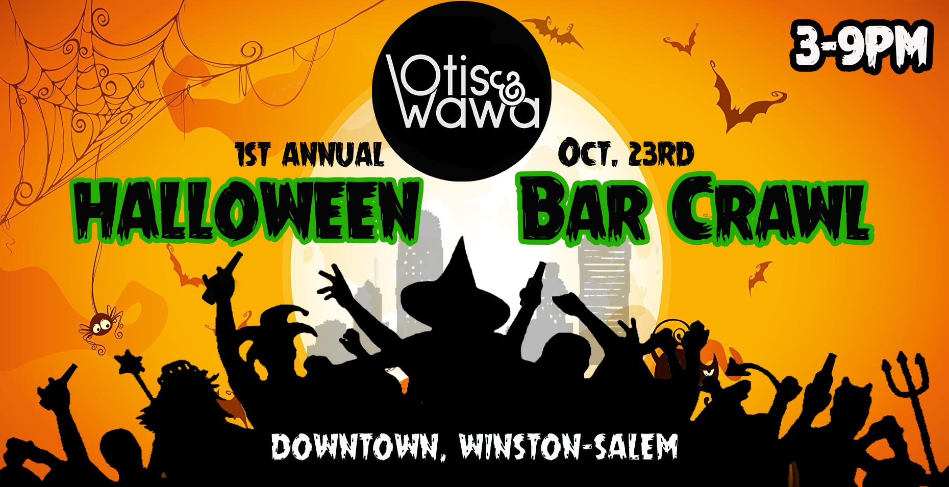 Otis & Wawa's Halloween Bar Crawl