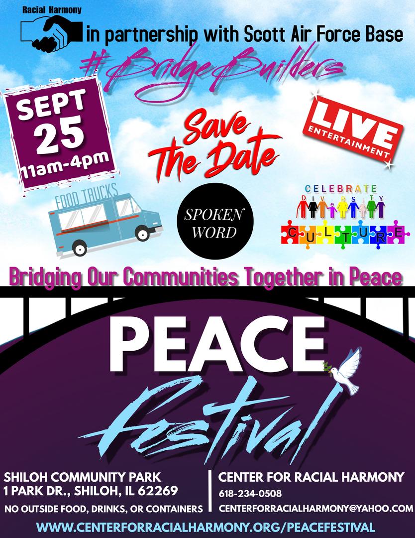 Racial Harmony #BridgeBuilders Peace Festival