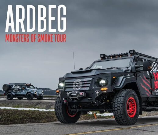 Ardbeg's Monsters of Smoke Tour Comes to Fort Lee