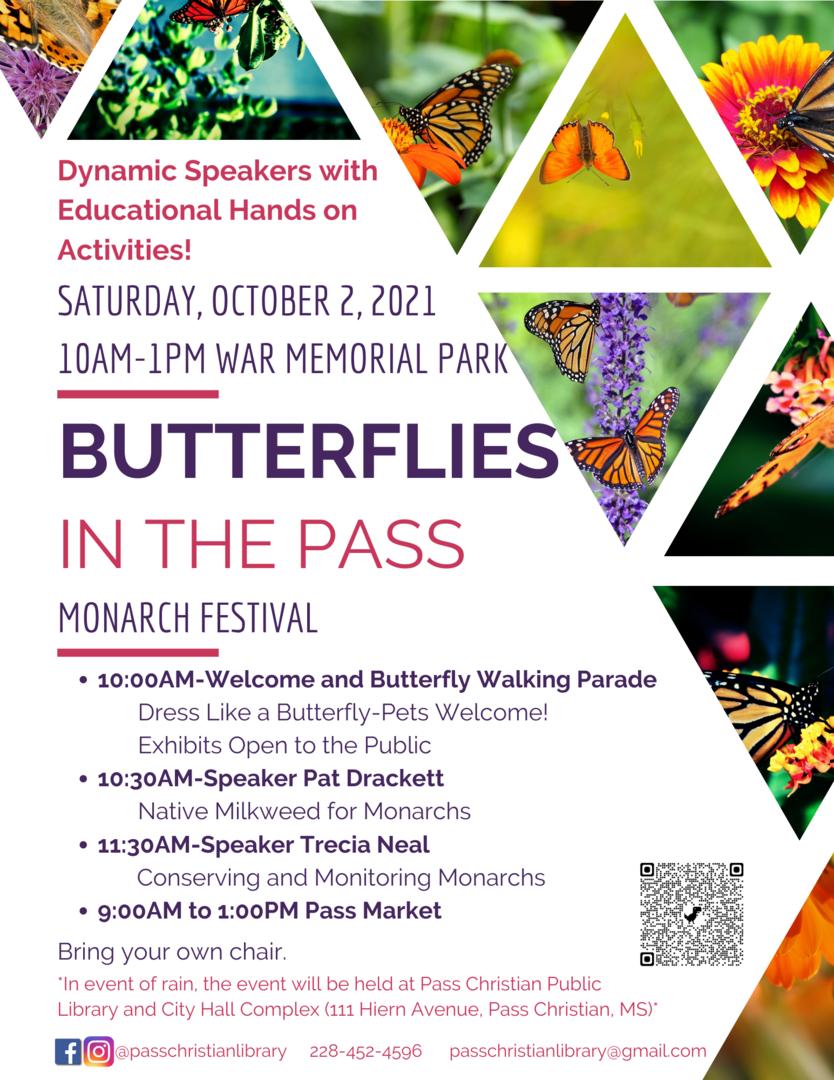 Butterflies in the Pass Monarch Festival
