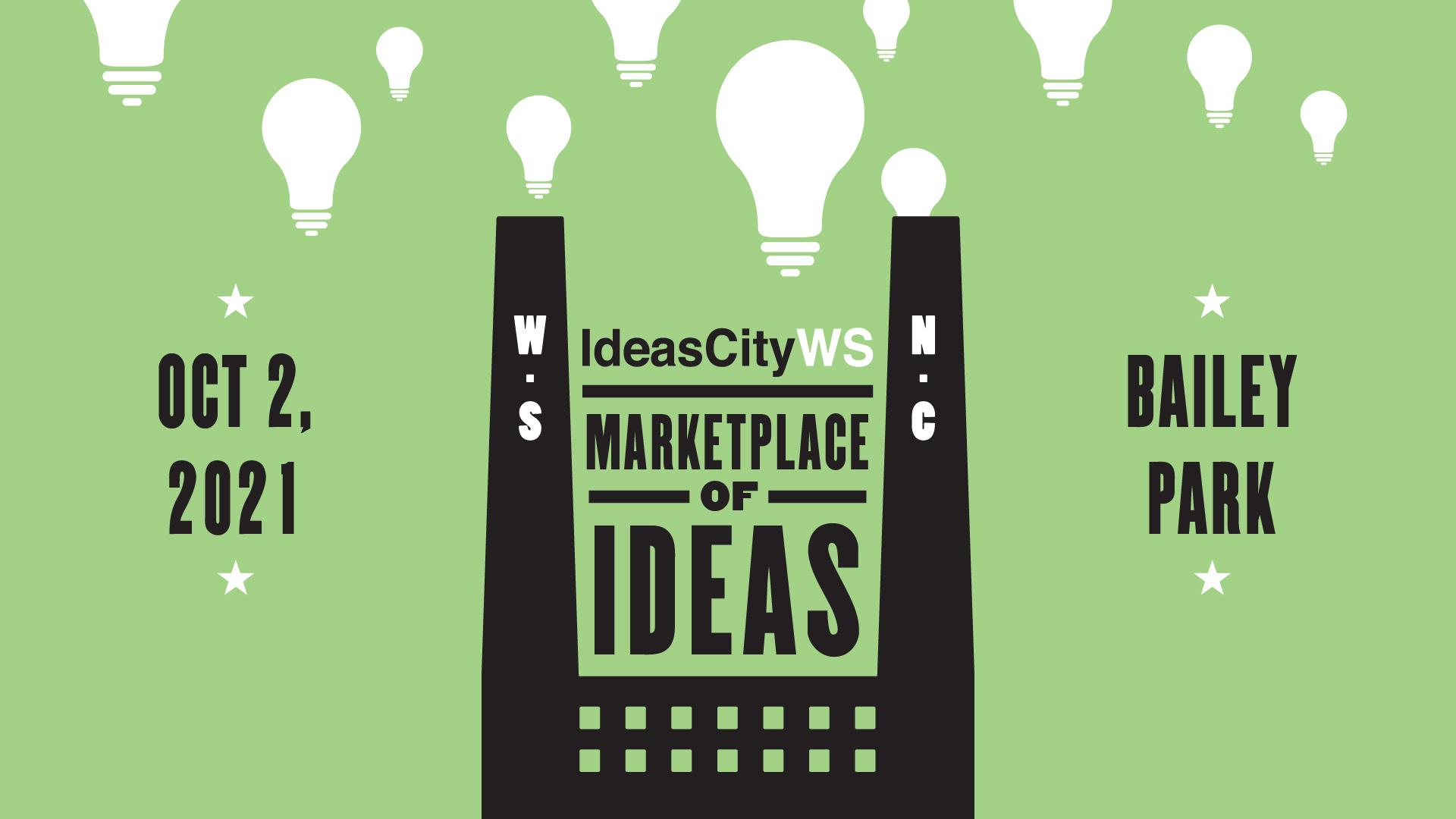 IdeasCityWS Outdoor Festival in Downtown Winston-Salem