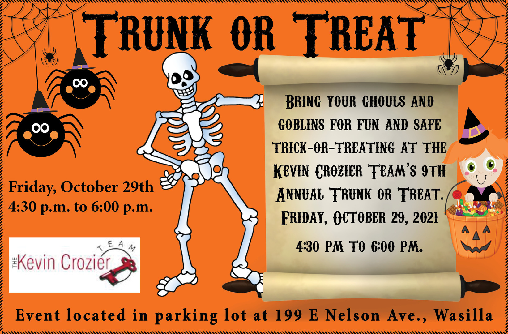 Trunk or Treat in Wasilla - Hosted by The Kevin Crozier Team