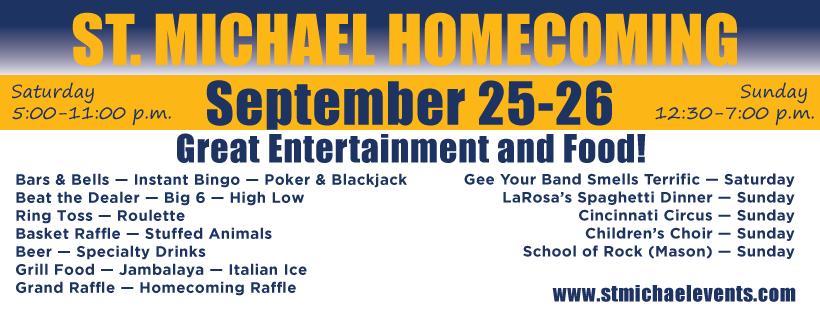 St. Michael Parish Homecoming