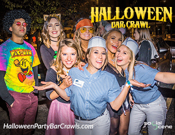 2021 Chicago Halloween Bar Crawl (Saturday)