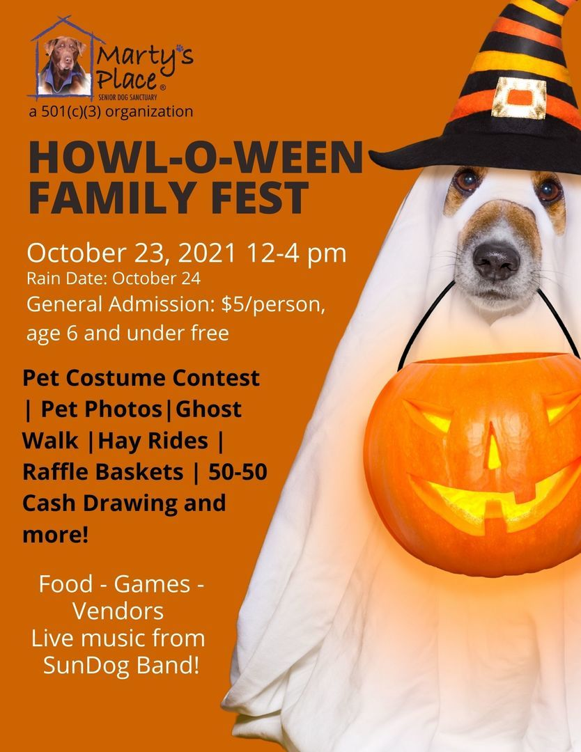 Howl-O-Ween Family Fest at Marty's Place
