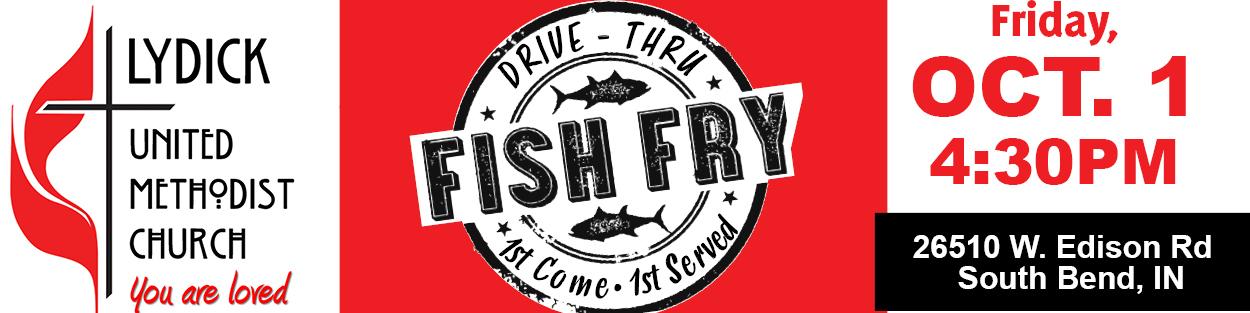 Fish Fry (Drive Thru) Lydick UMC