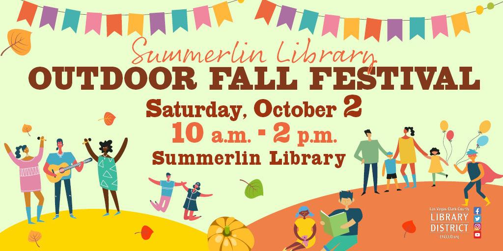 Summerlin Library Outdoor Fall Festival