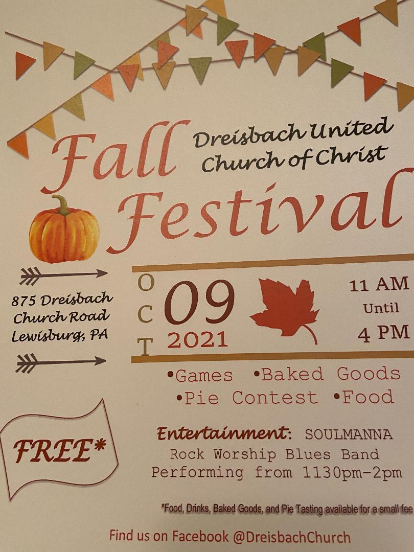 Dreisbach UCC Fall Festival