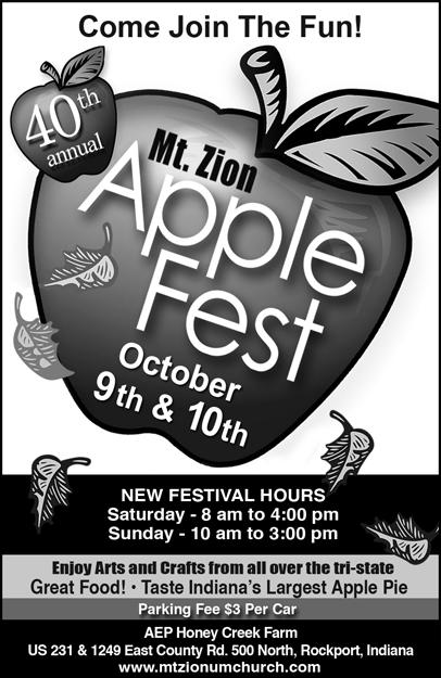 Mt. Zion's 40th Annual AppleFest