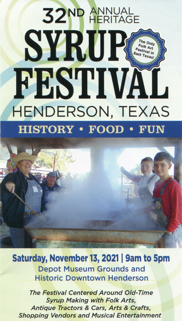 32nd Annual Heritage Syrup Festival