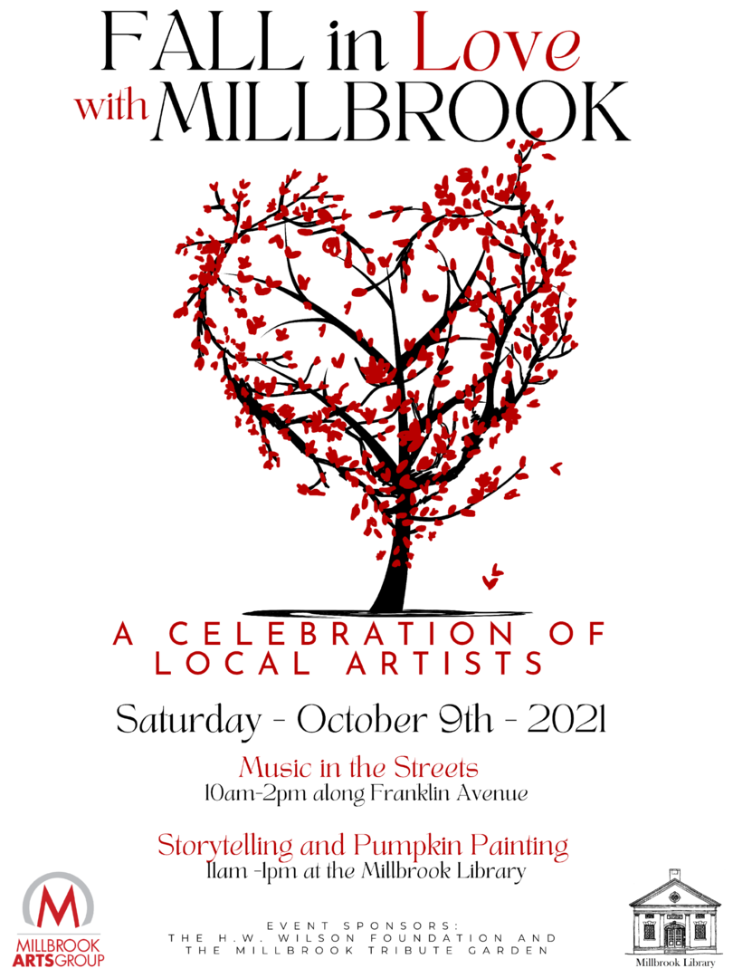 Fall in Love with Millbrook Presented by Millbrook Arts Group and Millbrook Library