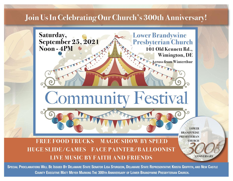 300Th Anniversary Festival