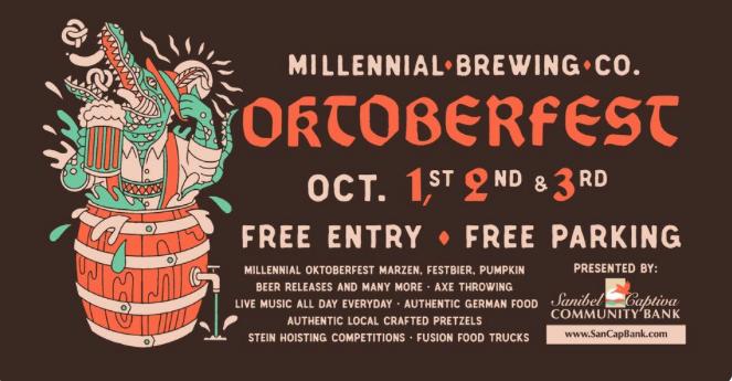 5th Annual Oktoberfest at Millennial Brewing