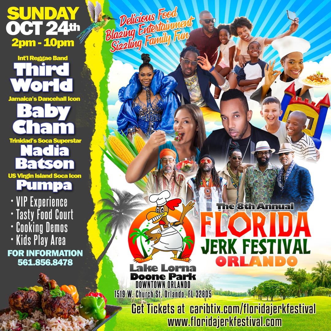 8th Annual Florida Jerk Festival: Orlando Edition
