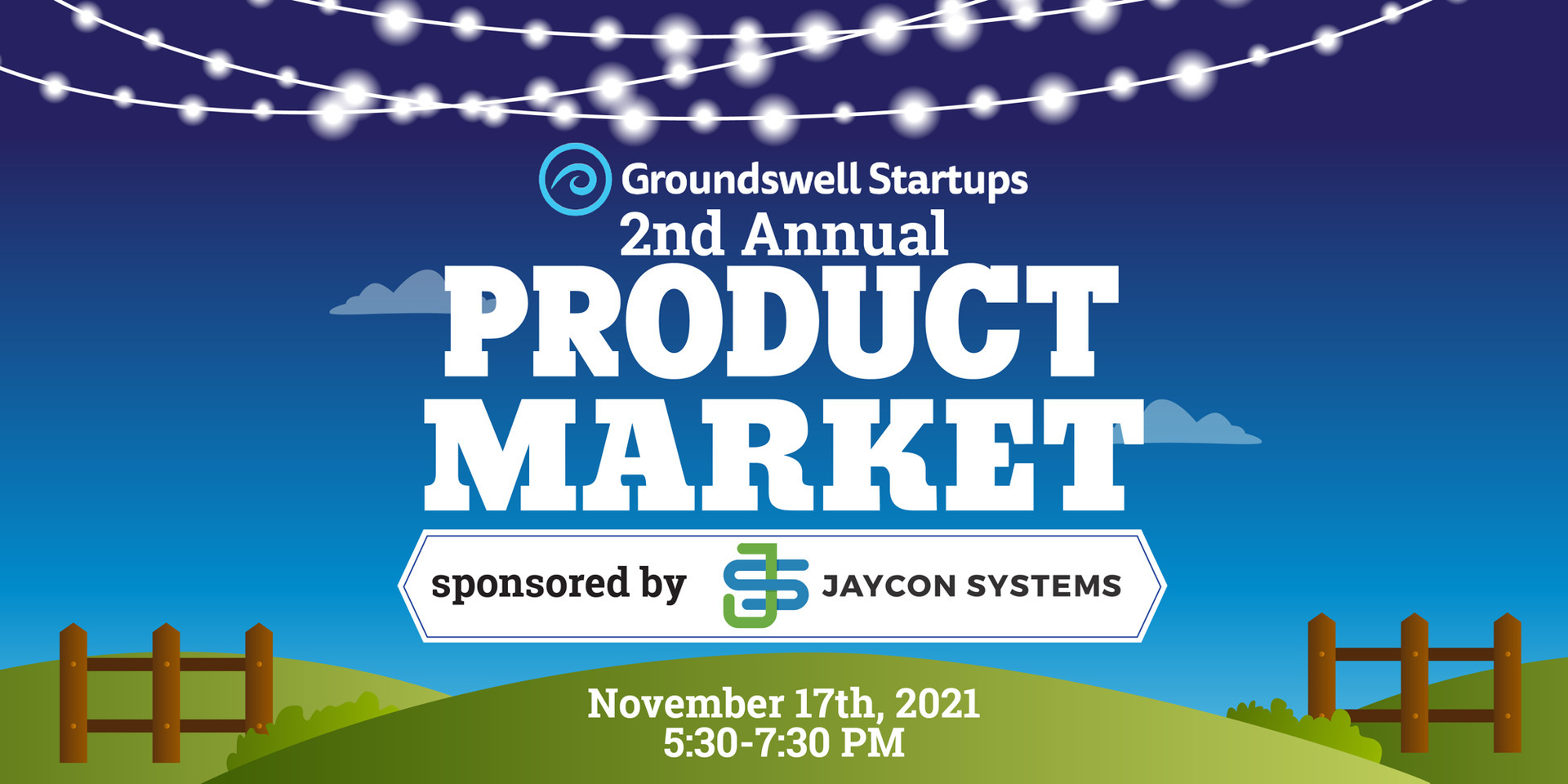 2nd Annual Groundswell Startups Product Market