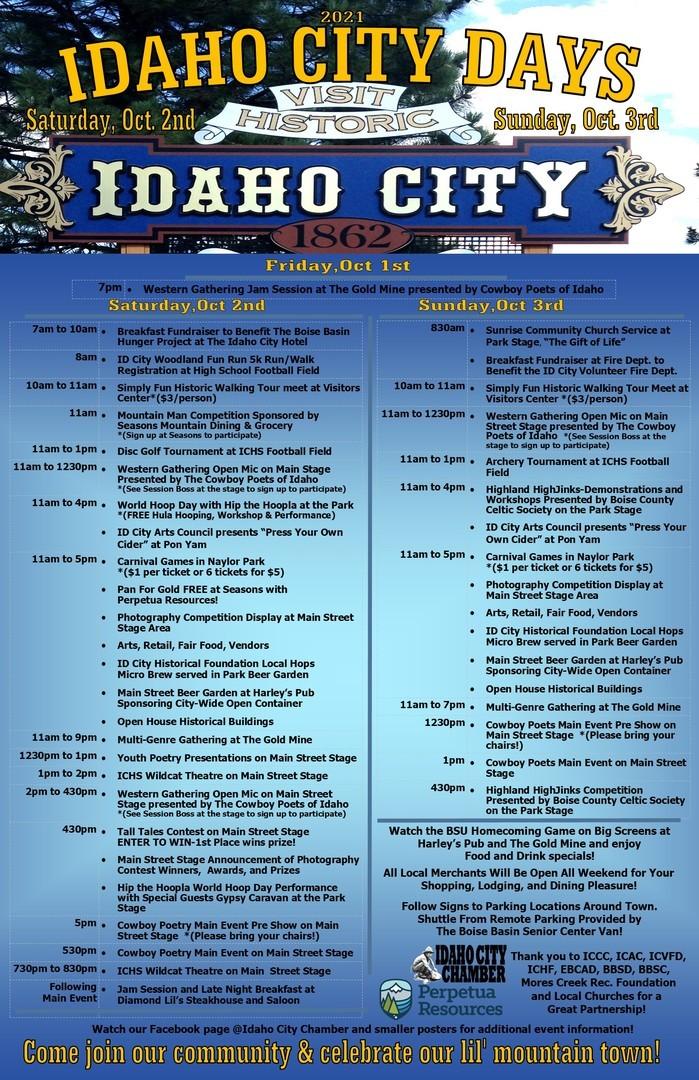 Idaho City Days