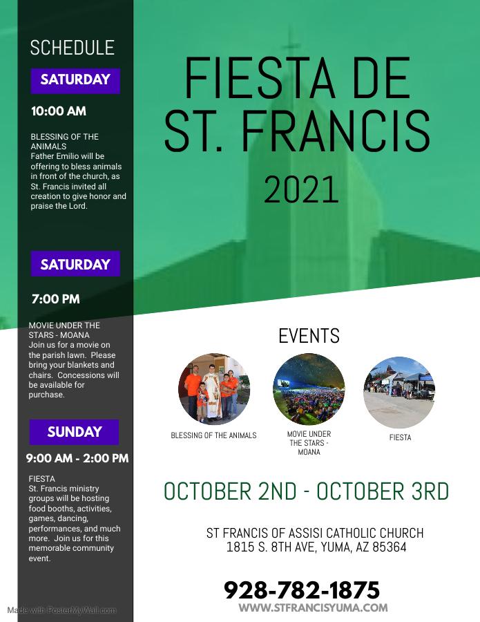 Fiesta de Saint Francis