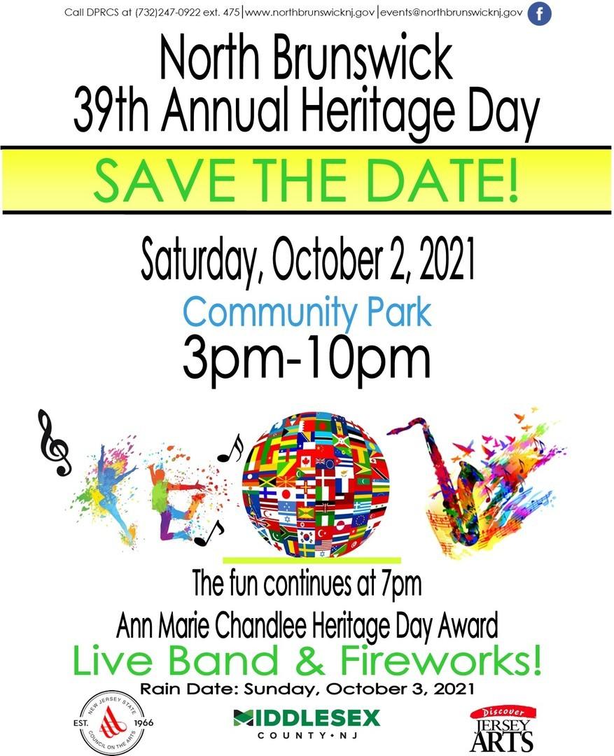 39th Annual North Brunswick Heritage Day