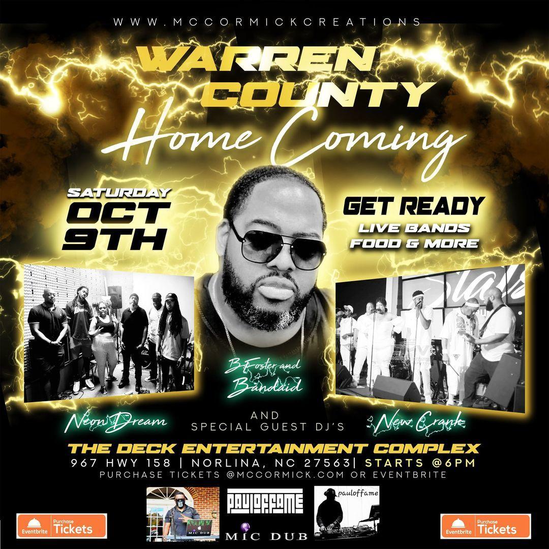 Live Music Concert - Warren County Homecoming