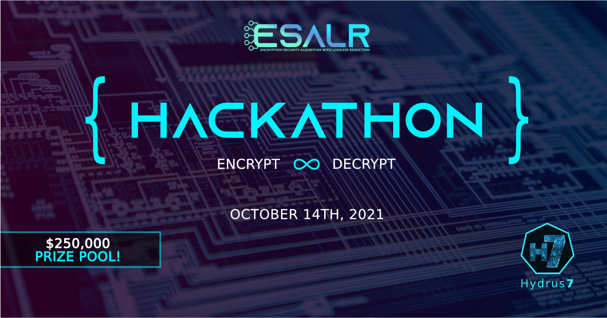 """Think you can decrypt Hydrus7's """"unbreakable"""" blockchain algorithm? The winner takes home $250k!"""