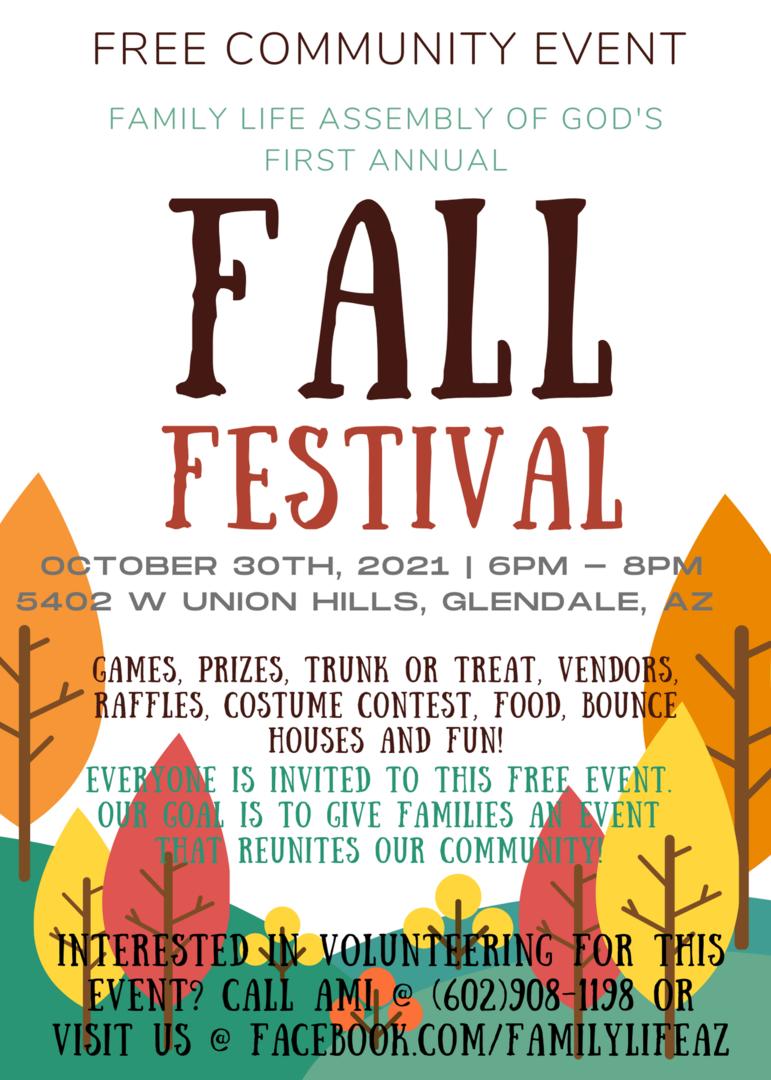 Free Community Fall Festival