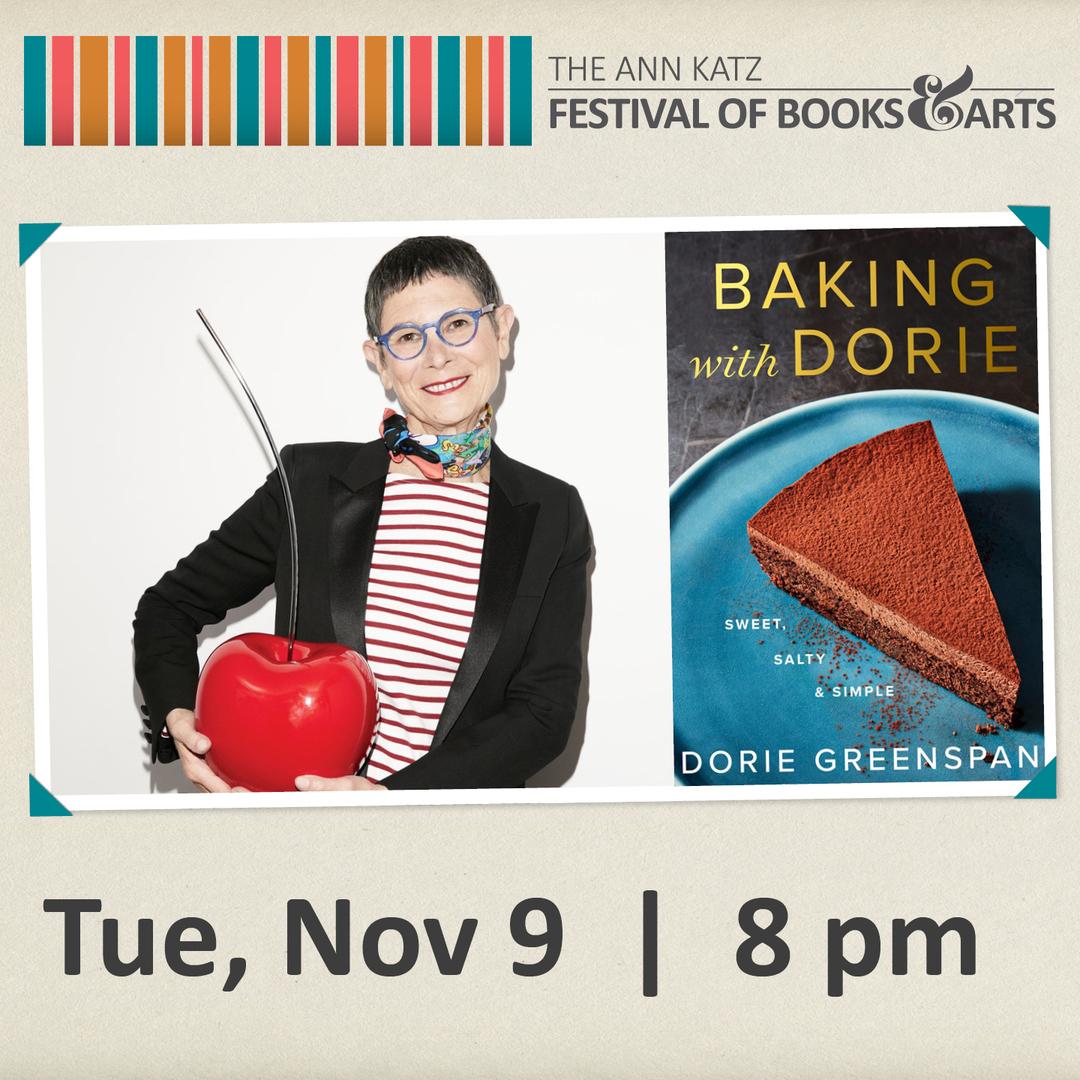 Virtual Ann Katz Festival: Dorie Greenspan - Nov 9, 2021