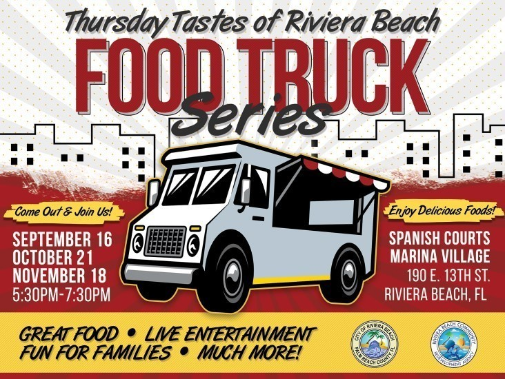 Thursday Tastes of Riviera Beach Food Truck Explosion