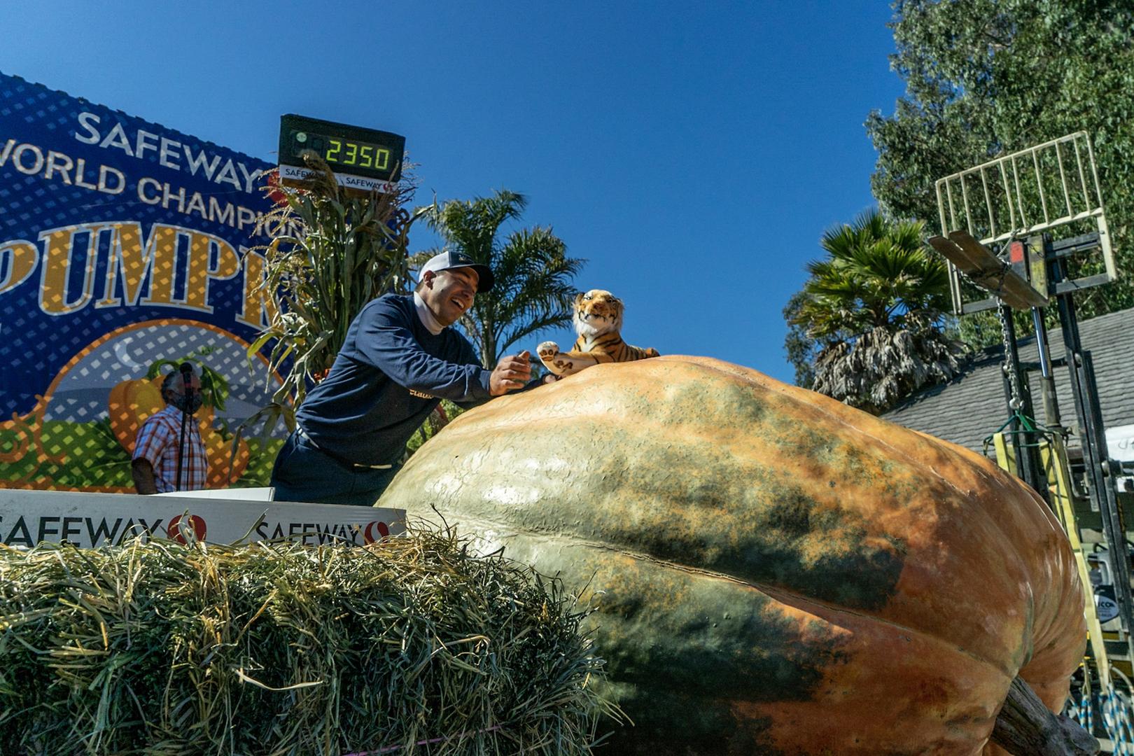 Half Moon Bay's 48th Safeway World Championship Pumpkin Weigh-Off