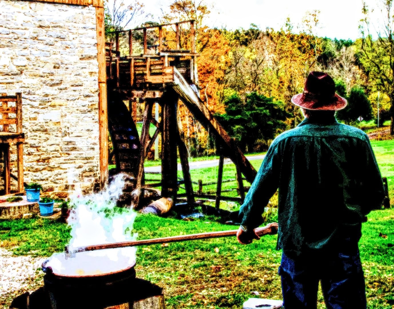 Wade's Mill 25th Annual Apple Butter Festival