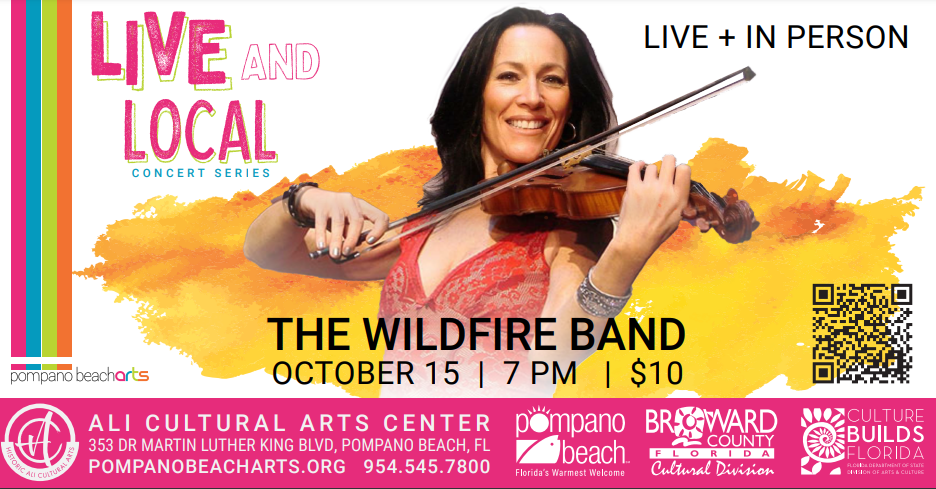 Live and Local Concert Series Launches with The Wildfire Band