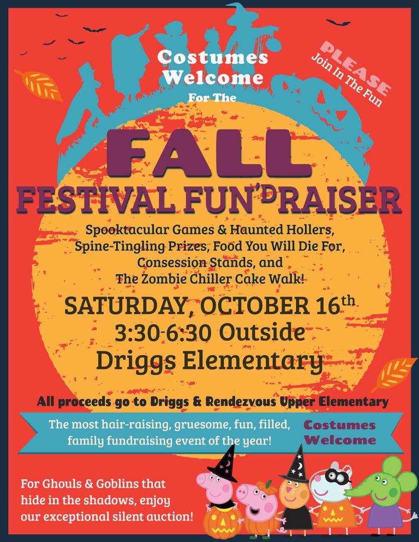 DES Fall Festival Fun'dRaiser