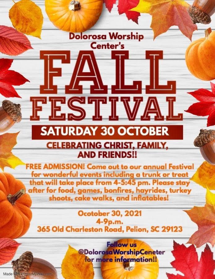 Dolorosa Worship Center's Fall Festival