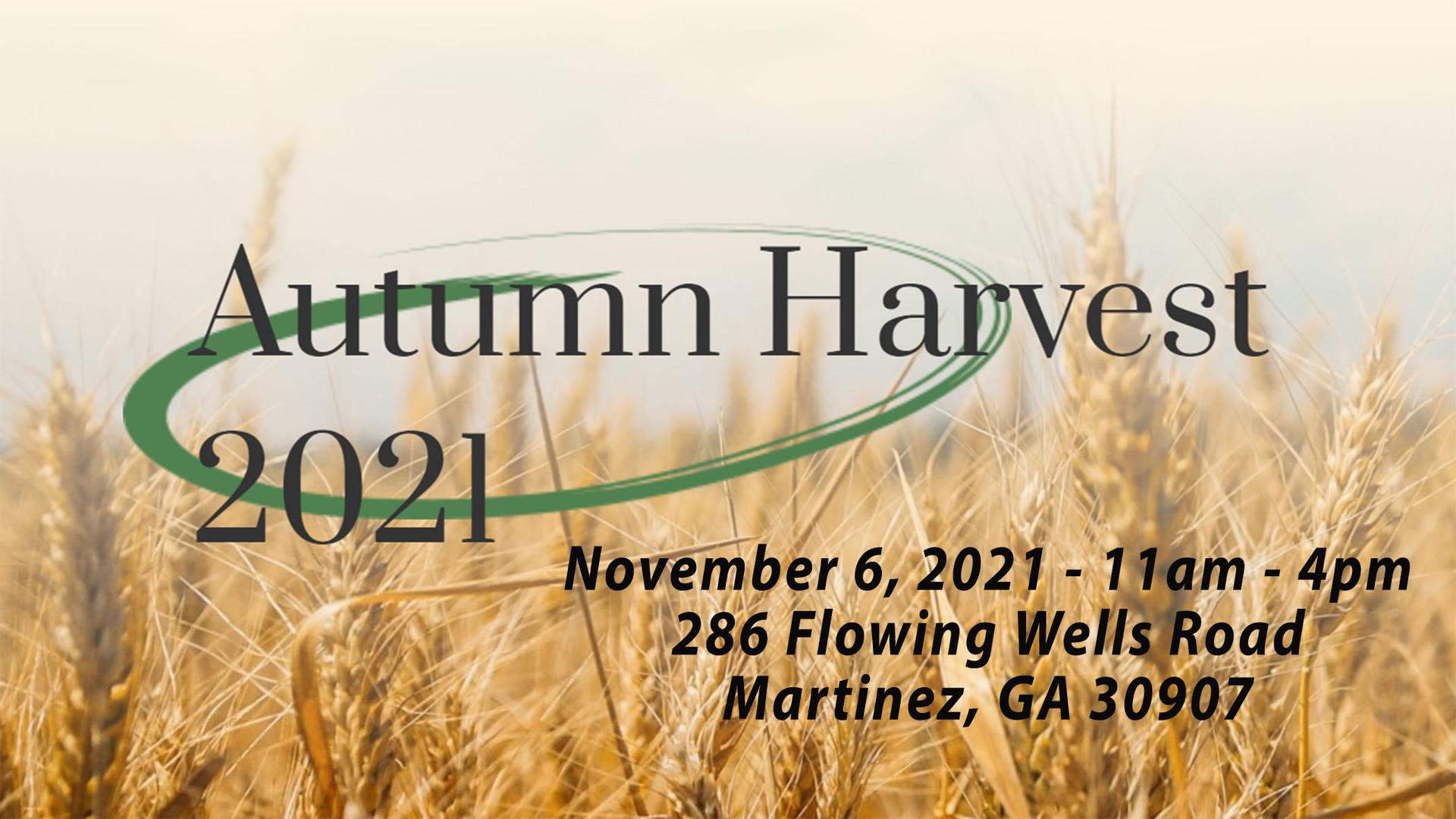 Autumn Harvest 2021