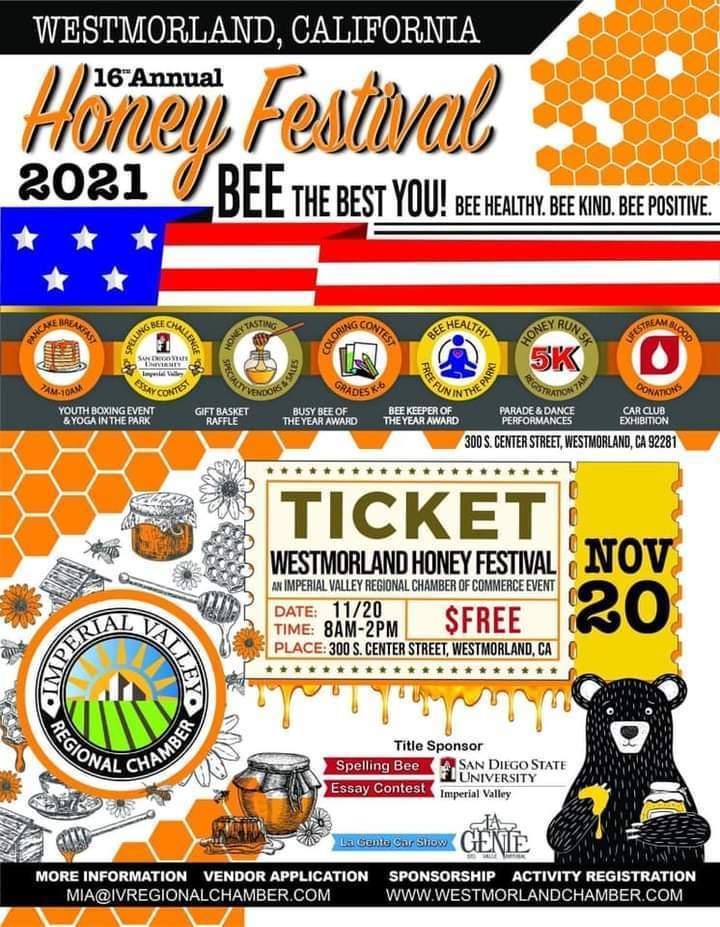 2021 Westmorland Honey Festival