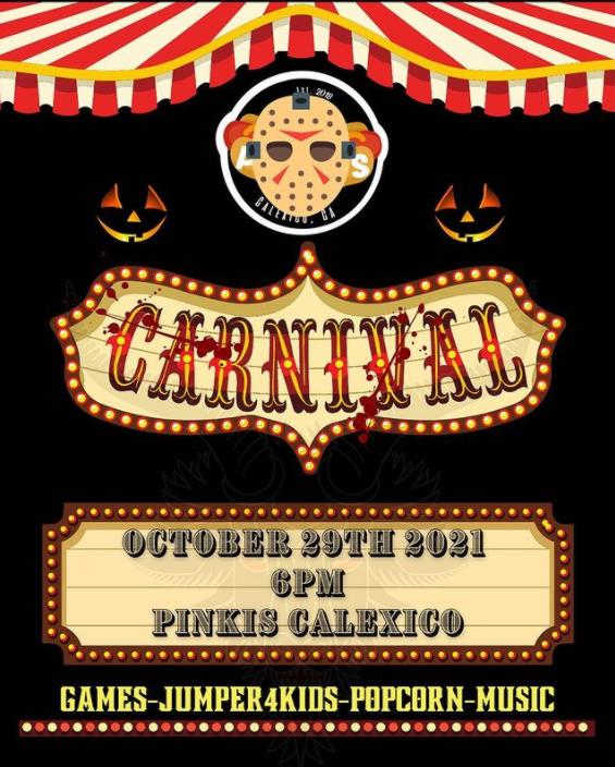 Spooky Halloween Carnival @ Pinkis