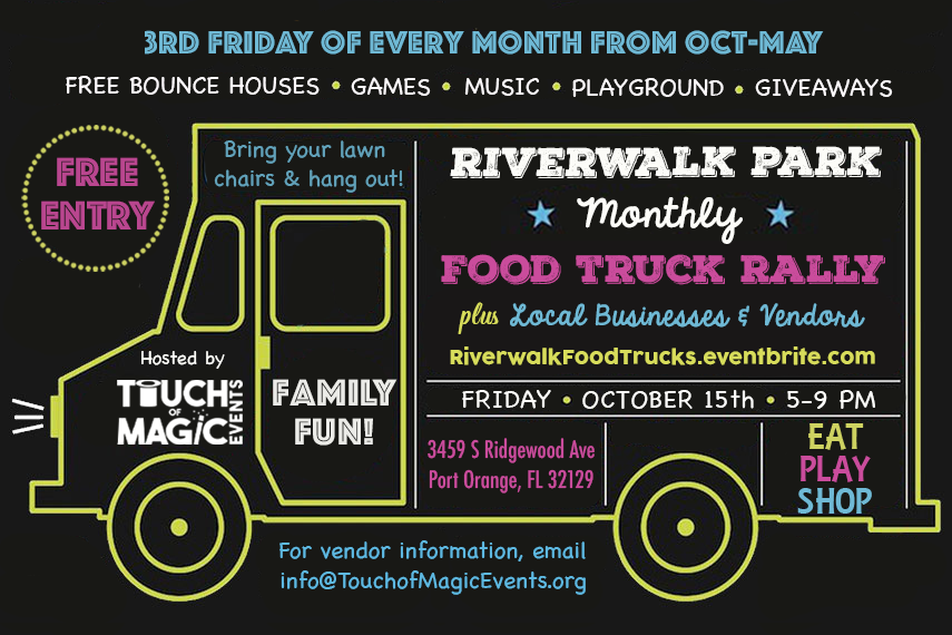 Riverwalk Park Food Truck Rally