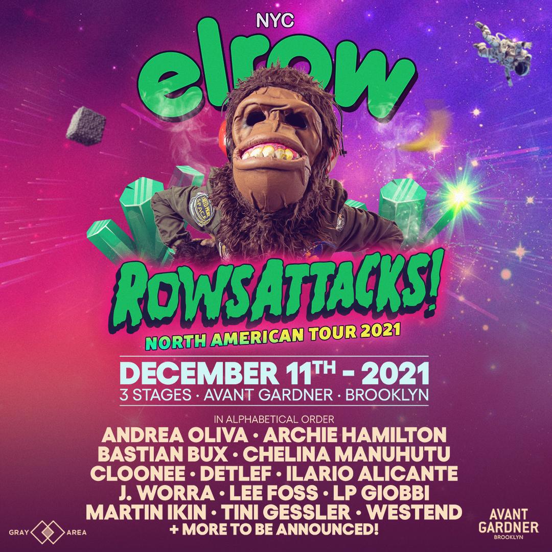 elrow at Avant Gardner
