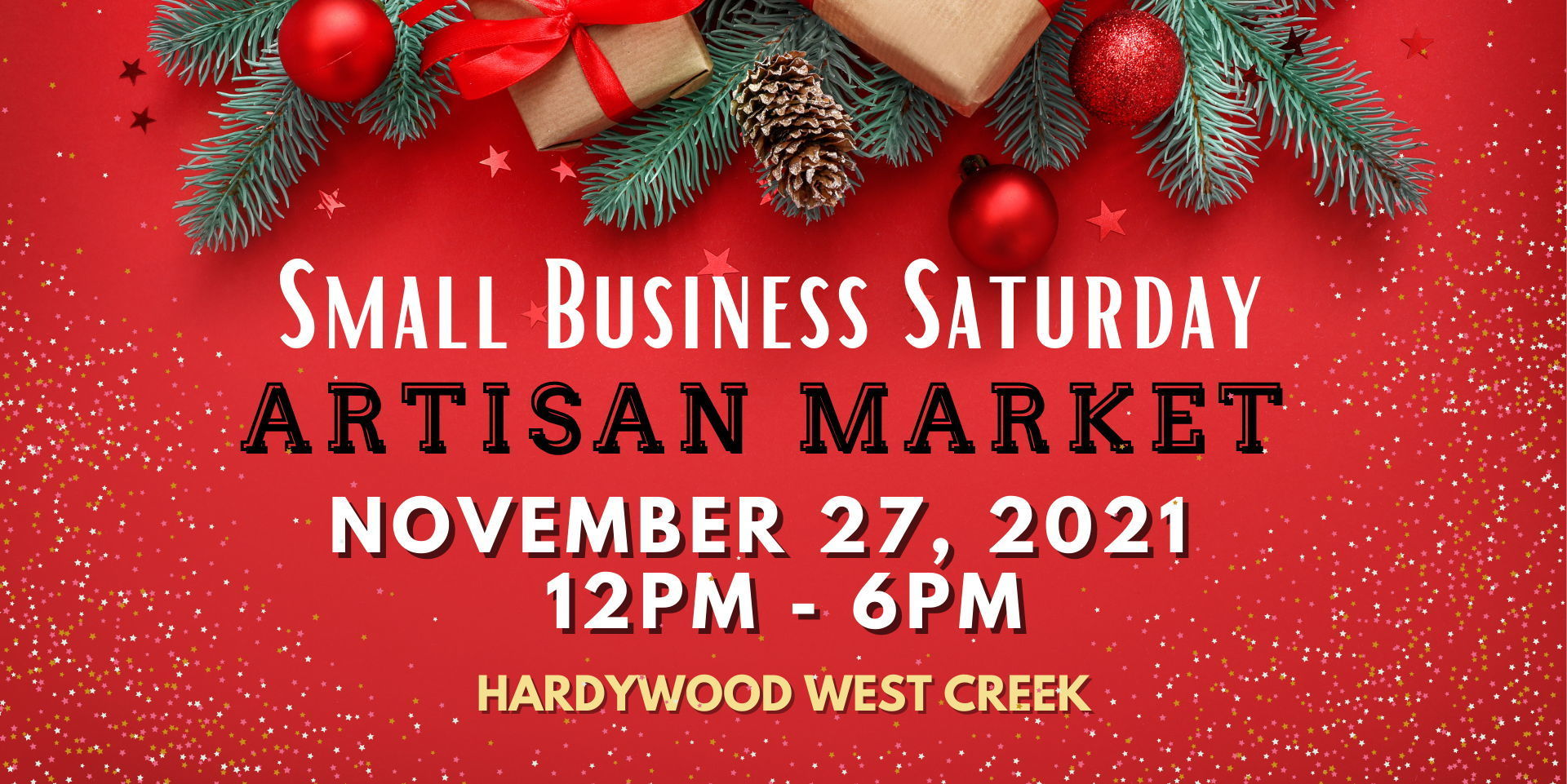 Small Business Saturday Artisan Market